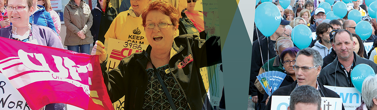 United for stronger communities – CUPE's 2015 campaign highlights