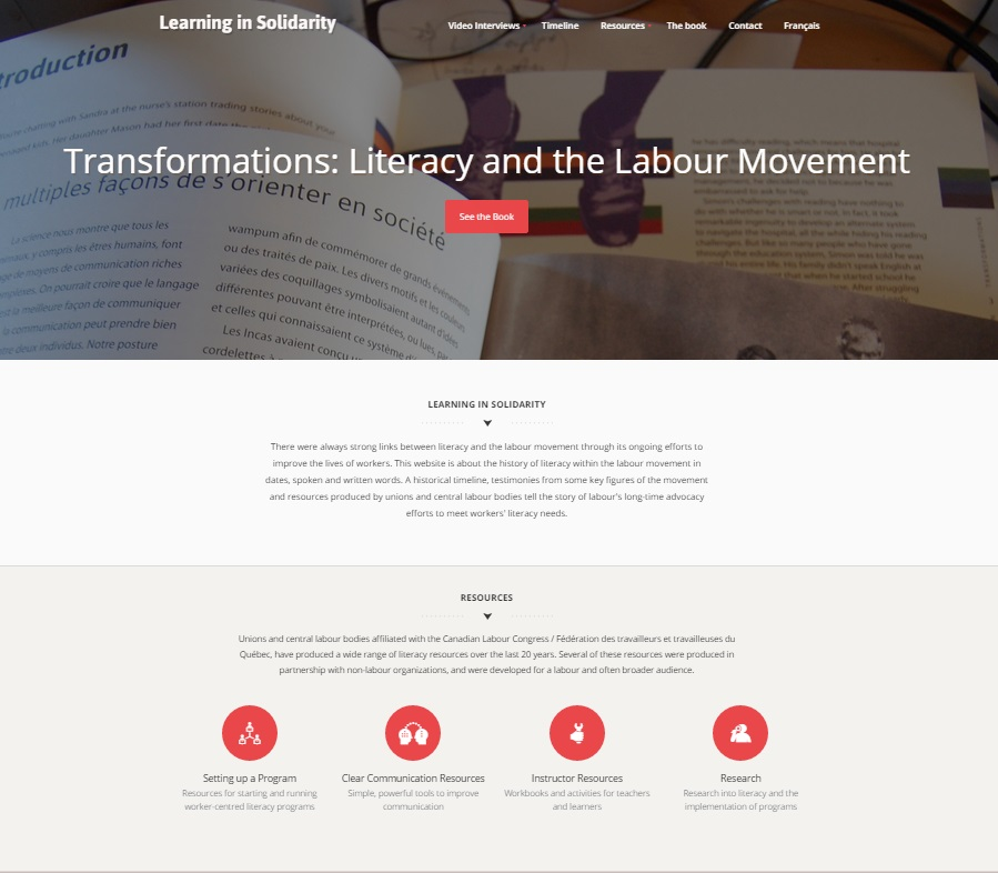 Literacy Web capture