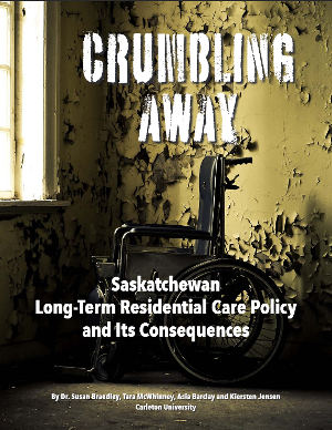 Cover: Crumbling away