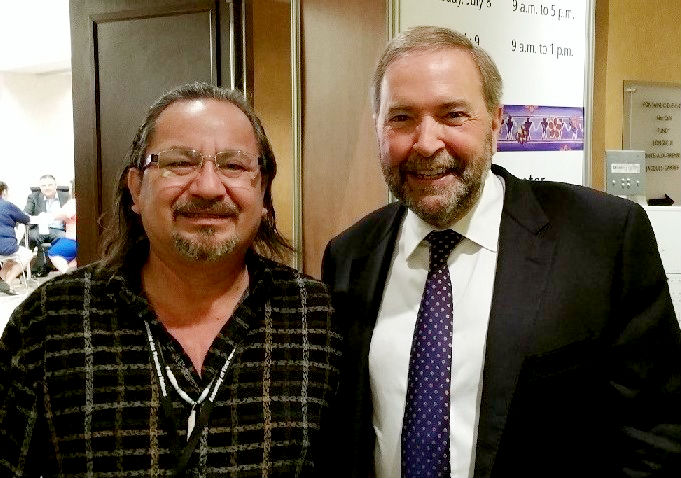 AFN Tom Mulcair