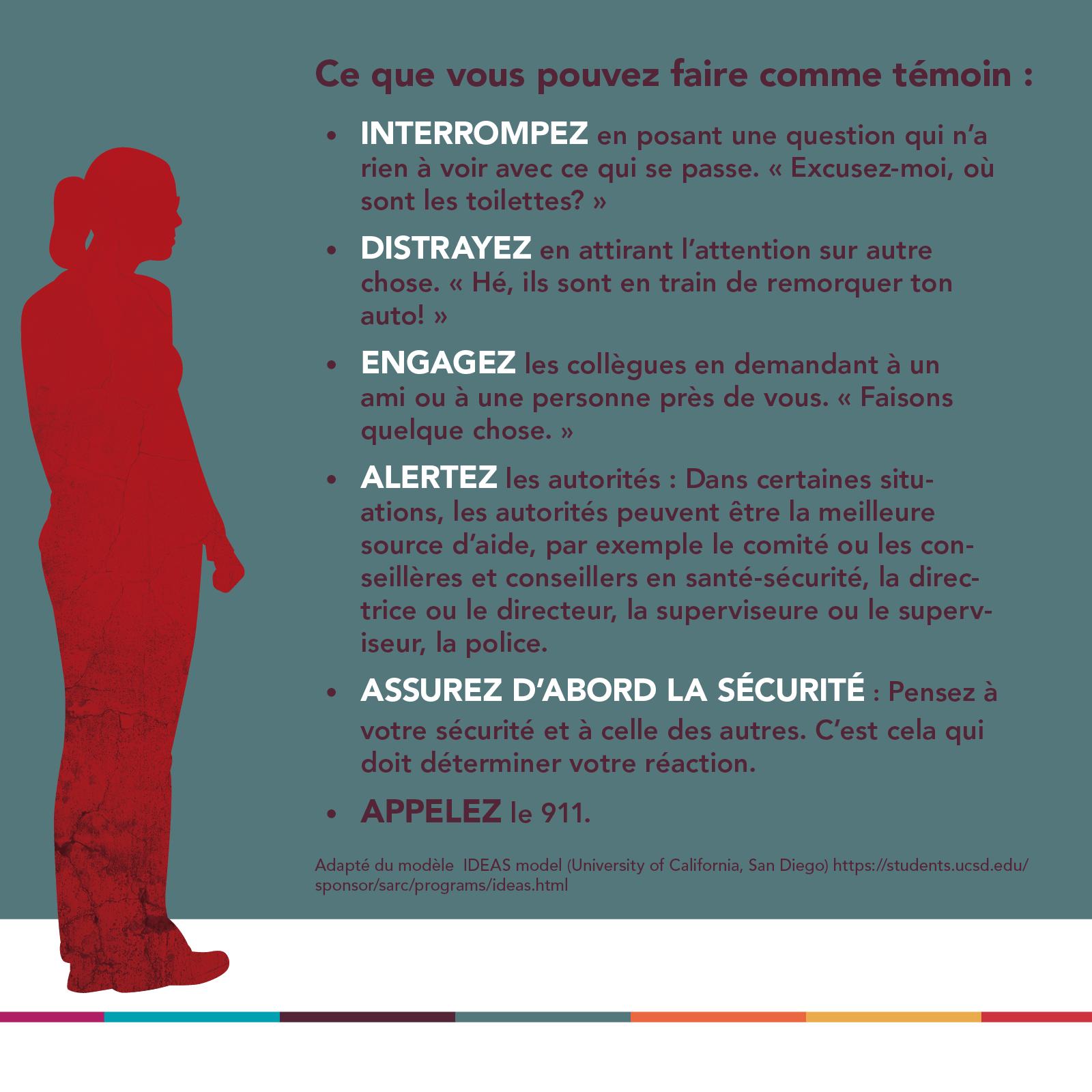 Répondre à la violence sexuelle en milieu de travail