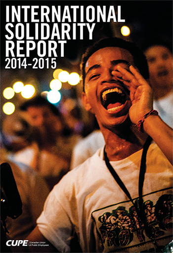 International Solidarity Report 2014-2015
