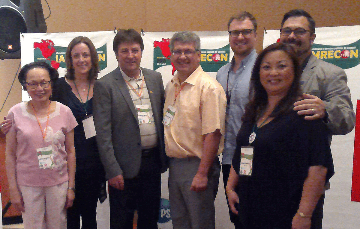 CUPE delegation at the Inter-American regional congress (IAMRECON) of Public Services International (PSI), in Mexico City, 20-24 April.