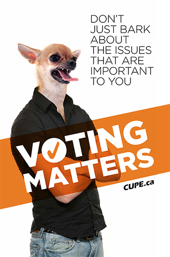 Voting matters: Don't just bark about the issues that are important to you