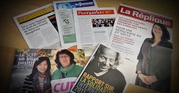 Publications du SCFP