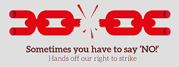Right to Strike Day of Action