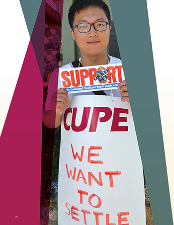 Solidarity on the line – CUPE's 2015 strikes and lockouts