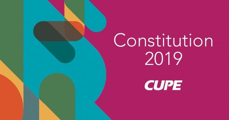 Constitution 2019