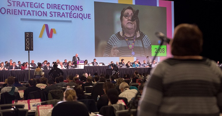 CUPE National Convention 2015 in Vancouver