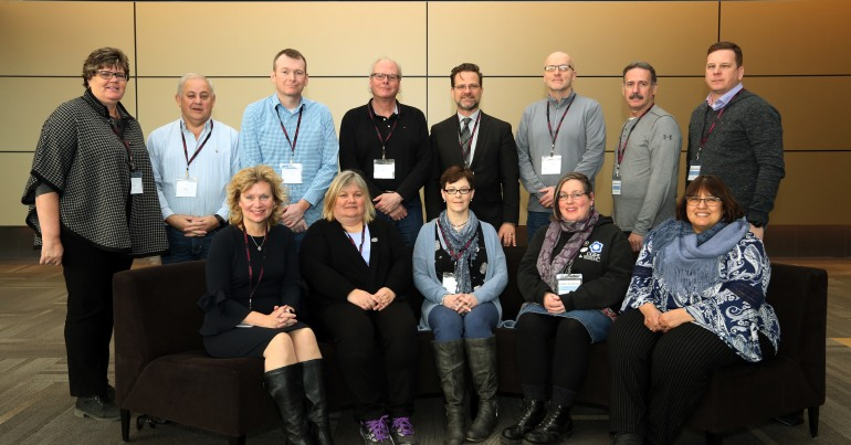 Members of CUPE's National Advisory Committee on Pensions 2018