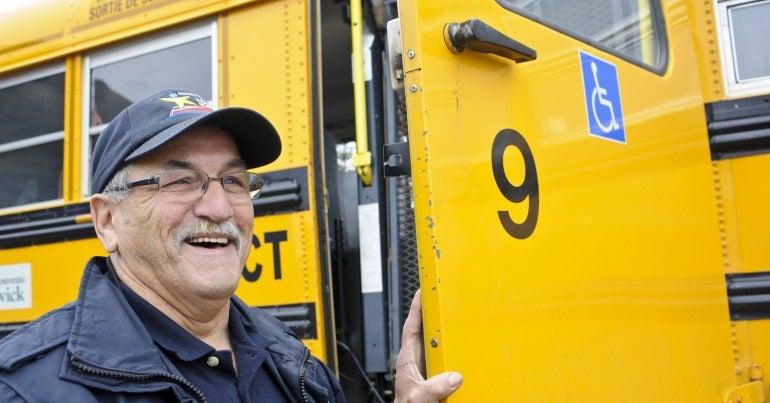 Schoolboard bus driver