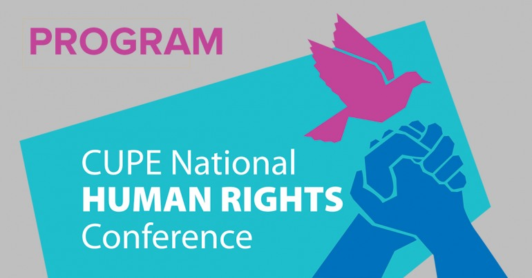 Human rights conference program