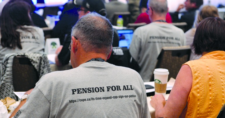 Retirement security for all – CUPE's 2015 pensions highlights