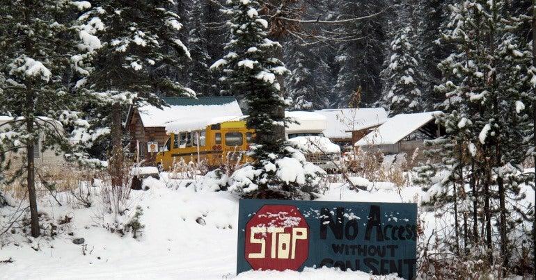 Unist'ot'en Camp, November 2012