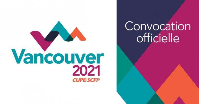 Congres 2021 Convocation officielle