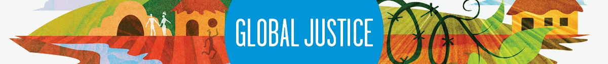 Global Justice Newsletter banner