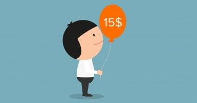 salaire minimum 15