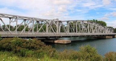 Bridge in Welland Ontario