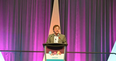 Charles Fleury at National Sector Council Conference Ottawa 2018