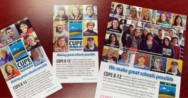 CUPE 4165 Southeast Kootenay school district members
