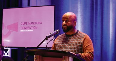 CUPE Manitoba President focused on building a movement