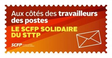 Le SCFP solidaire du STTP