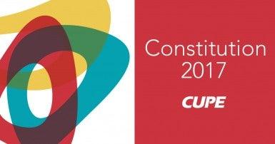 CUPE Constitution 2017