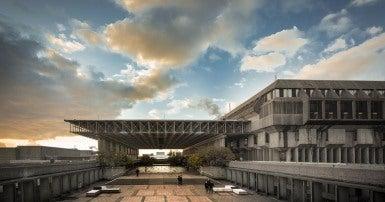 SFU convocation mall