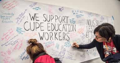 CUPE Education Workers