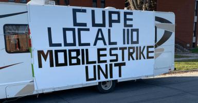 CUPE 110 Mobile Strike Unit