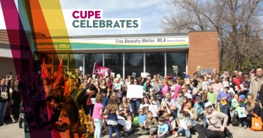 CUPE celebrates!