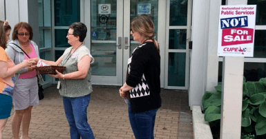 CUPE NL members ask the public to join the fight to stop library closures