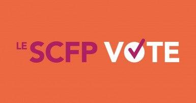 Le SCFP vote