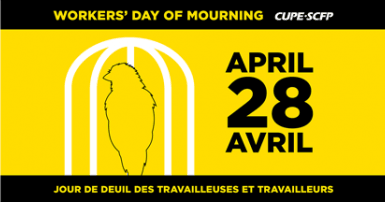 April 28 Day of mourning - Jour de Deuil 28 avril