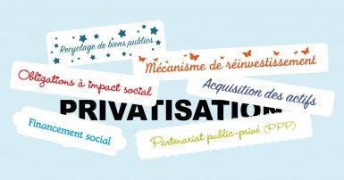 Privatisation: PPP, OIS, DMPS et quoi encore?