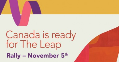 Canada is ready for The Leap rally