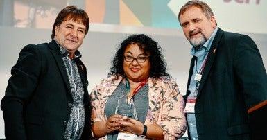 Gina Puntil, Mark Hancock, Charles Fleury