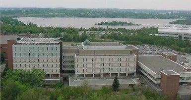 Laurentian Science Buildings.  From Wikimedia Commons Vanderbilt8, CC-SA-3.0