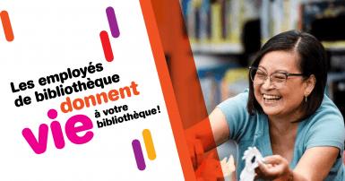 Les employés de bibliothèque donnent vie à votre bibliothèque