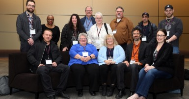 Members of CUPE's Contracting out and privatization committee