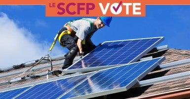 Environnement et changements climatiques: Le SCFP vote