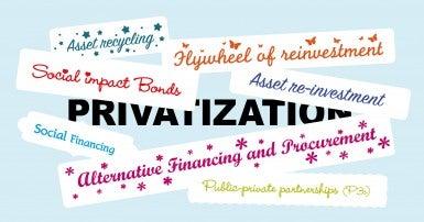 Privatization: P3, SIB, ASD….huh?!