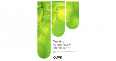 Environment Policy Cover