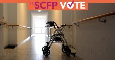 Soins de longue durée: Le SCFP vote