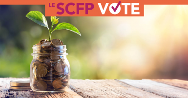 Régimes de retraite: Le SCFP vote