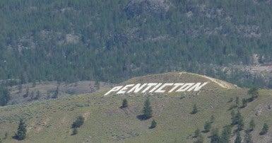 Hills near Penticton