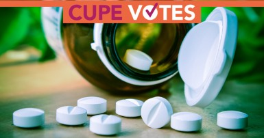 Pharmacare: CUPE votes