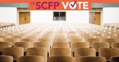 Éducation postsecondaire: Le SCFP vote