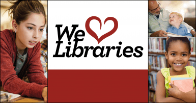 We love libraries - Essex County