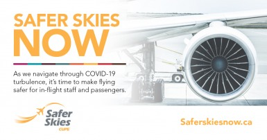 As we navigate through COVID-19 turbulence, it's time to make flying safer for in-flight staff and passengers.